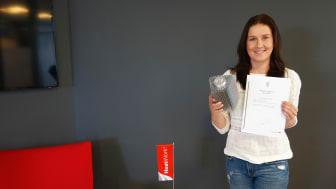 Kristin Markussen, markedsansvarlig i Heatwork.