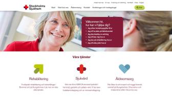 Stockholms Sjukhems nya webbplats