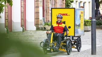 DHL Cykelkurer