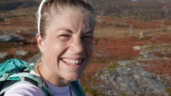 Astrid Uhrenholdt Jacobsen gleder seg til å samarbeide med Bergans. Foto: Privat