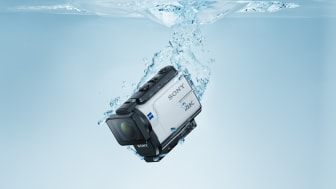 Venez découvrir la FDR-X3000R, la nouvelle reine des caméras d'action