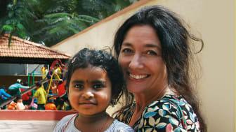 Ny barneaksjon: Gjensyn med Indrani