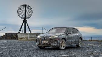 BMW iX på norgesbesøk: Igjen. Og igjen