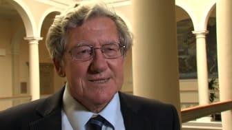 Stockholmspriset i kriminologi tilldelas David Farrington