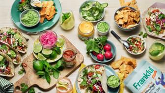 Orklas nya varumärke Frankful erbjuder ett sortiment av 12 tacoprodukter.