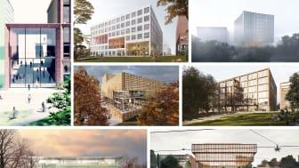 Förslag på nytt universitetsbibliotek i Göteborg visas upp