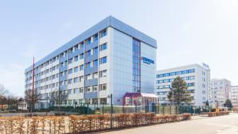 Bürogebäude Storkower Straße 111 in Berlin Prenzlauer Berg, vollvermietet an die Fiducia & GAD IT AG, ein langjähriger Bestandsmieter aus der IT-Branche (Source/Copyright: Aroundtown SA)