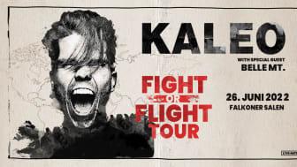 "KALEO ""FIGHT OR FLIGHT TOUR 2022"" I FALKONER SALEN 26. JUNI 2022"