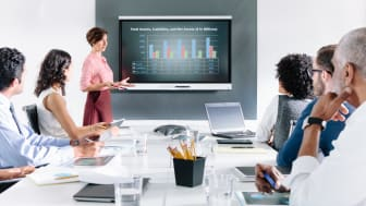 SMART kapp iQ - Det optimala mötesverktyget med alla funktioner inbyggda i skärmen