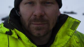 Thord Paulsen på arbejde