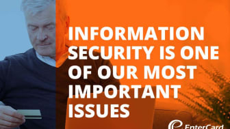 Information security is our top priority