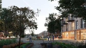 Forslag til kvartersplads