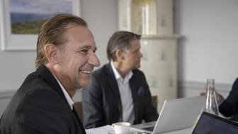 Kjell Olsson och Martin Troede