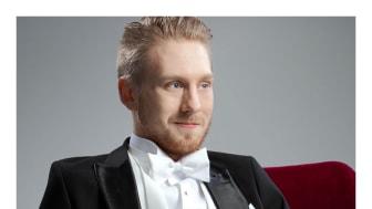 Hannes Öberg, barytonsolist i Blåsarsymfonikernas nyårsgala 2019, Wien så in i Norden.