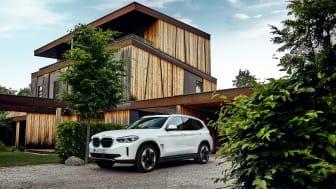 Den helt nye BMW iX3: Elektrisk køreglæde i SUV-format