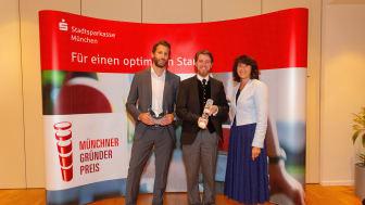 Die Gewinner des Münchner Gründerpreis: TimeRide GmbH