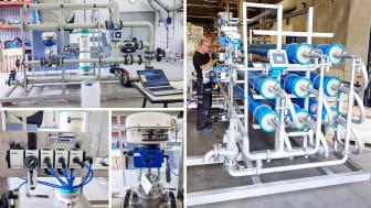 Tillverkning och leveranstest utförs på Mercatus