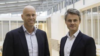 Kenneth Løvold, Administrerende Direktør i Visma Mamut og Andreas Vik, Partner i BDO.