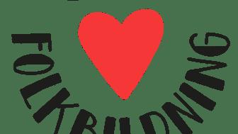 Kärlekskampanj för folkbildningen