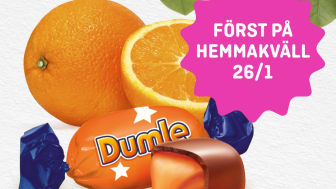 Dumle Orange - Först på Hemmakväll i lösvikten