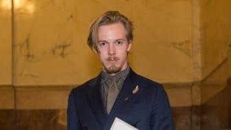 Wilhelm Sturesson, grundaren av AW Retail med Engelska Herr och Baltzar, utsedd till Årets Unga Entreprenör Syd 2016