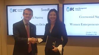 Swedfund investerar stort i kvinnligt entreprenörskap