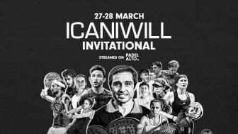 ICANIWILL Invitational blir startskott för samarbete mellan ICANIWILL och Klövern Padel