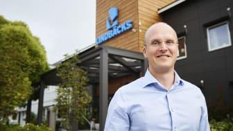 Markus Holmlund, affärschef och vice vd på Lindbäcks Bygg.