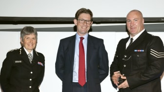 Crime Fighter of the Year - Gary Schofield & Dir Gen MI5