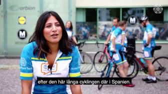 Cykeleventet – Country 2 Country 4 Cancer 2018, video