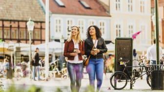 Internationella besökare ökar mest i Malmö