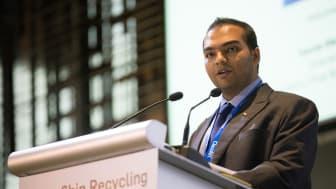 Welcoming delegates: Gaurav Mehta of Forum sponsor Best Oasis / Priya Blue