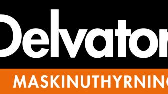 Logotype Delvator Maskinuthyrning