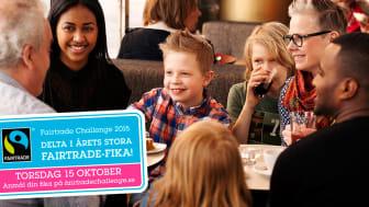 Scandic serverade flest fikadeltagare i Fairtrade Challenge