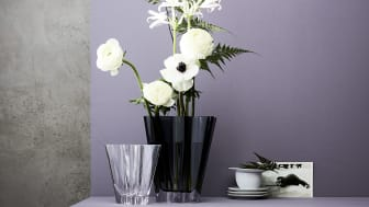 From porcelain to glass: in 2020 Rosenthal is re-launching the popular Flux Vase as glass edition.