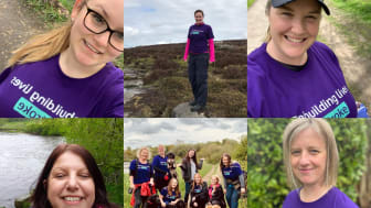 Wakefield Neurology team walk their way to fundraising success for the Stroke Association
