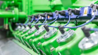 Der Generator des Biomasse-Heizkraftwerks macht die klimafreundliche Energieerzeugung möglich.