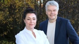 Emmy Ericsson, ny marknadschef, och vd Nils-Olof Forsgren har lett det senaste årets utvecklingsarbete som resulterat i en helt ny kommunikationskostym för Uminova Innovation. Nu fortsätter arbetet mot version 2.0.