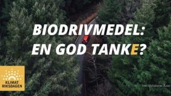 Biodrivmedel ingen lösning för att nå transportsektorns klimatmål