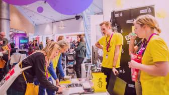 Amnestys monter under MR-dagarna på Konsert & Kongress i Linköping 2019