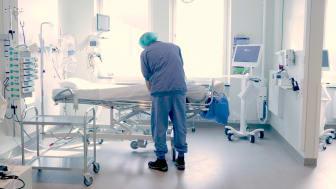 Förberedelser vid intensivvårdsavdelning för patienter med Covid-19 vid Norrlands universitetssjukhus. Foto: Klas Sjöberg/Region Västerbotten