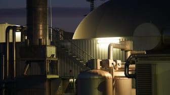 Biogasproduktion auf der Biomasseanlage in Essenheim