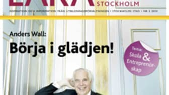 """Anders Wall i LÄRA Stockholm: """"Entreprenörskap handlar om lust och glädje"""""""
