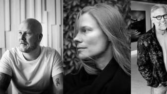 Kristoffer Granath (foto: Sarah Perfekt), Lina Scheynius (foto: Massimo Leardini) och Ragnar Axelsson (foto: Gunnlaugur Rögnvaldsson).