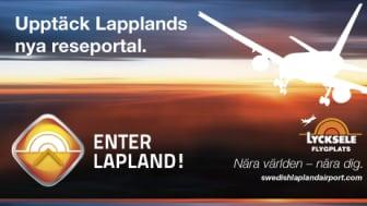Lycksele Flygplats lanserar reseportal för Lappland