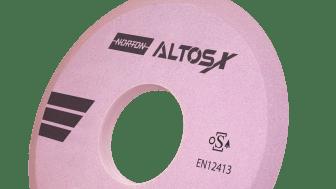 Tester visar att Norton AltosX är effektivare än någon annan slipskiva på marknaden och avverkar material dubbelt så fort med samma effektnivå.