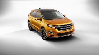 Nye Edge - Fords meste avanserte SUV klar for Norge og Europa i 2015