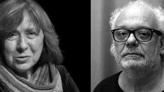 Dokumentärfilmen, Lyubov - Kärlek på ryska, där Staffan Julén följde Svetlana Aleksijevitj arbete, visas nu på flera biografer till stöd för folket i Belarus.