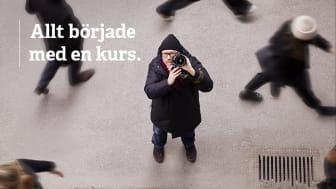 Anders gick en kurs i foto och jobbar idag som fotograf på heltid.