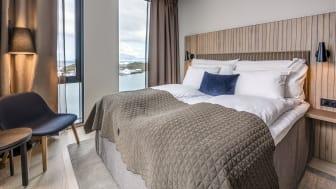 250 GJESTEROM: Quality Hotel Ramsalt er Bodøs største hotell.